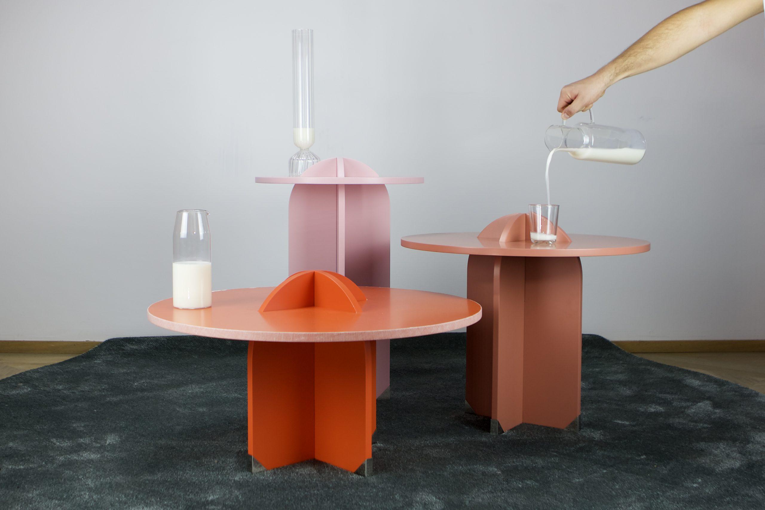 Tavolini Collezione F4 TestaTonda